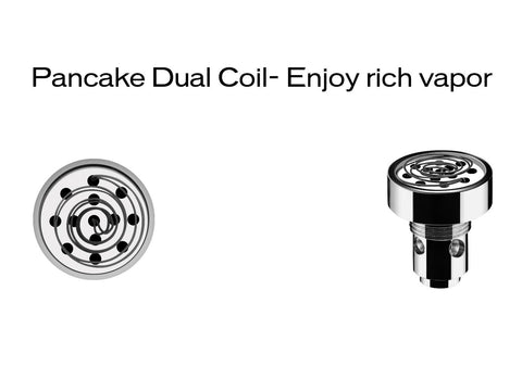 Yocan Evolve-D Accessory - Dual Pancake Coil 5/pack
