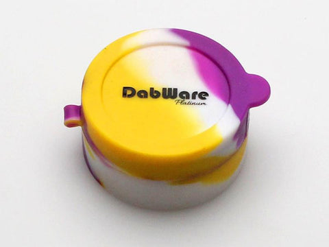 Dabware Silicone Platinum-Cured Flip-Top 10ml Dab Container DW031p