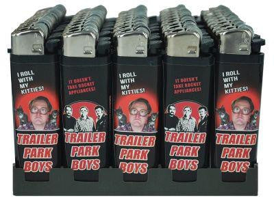 Trailer Park Boys Disposable Butane Lighter - Kitty / Rocket Appliance