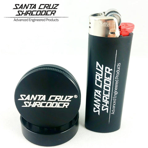 "Santa Cruz Shredder USA Medical Grade Grinder 2piece 1.5"" Small"