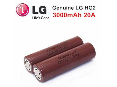 LG HG2 18650 Lithium-Ion Battery