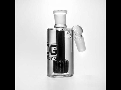 OG Original Glass AshCatcher 19mm 90degree Pirelli / Barrel Perc OG-ASH-001 21467