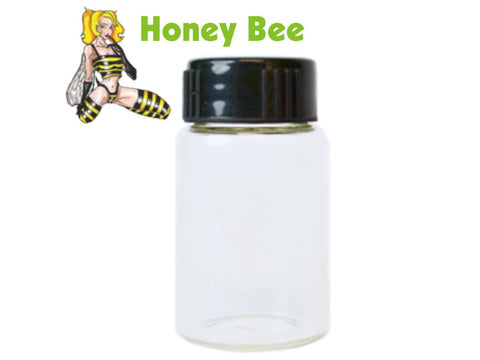 Honey Bee Glass Vial For Scraper Funnel 3.5ml 380/pack