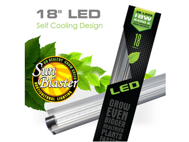 Sunblaster led strip plant grow lighting 18 18w 6400k thc sunblaster led strip plant grow lighting 18 18watt 6400k vegetative grow mozeypictures Choice Image