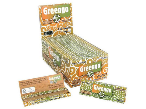 "Greengo Rolling Papers ""The Natural"" 1-1/4 Size 50/pack 50/box"