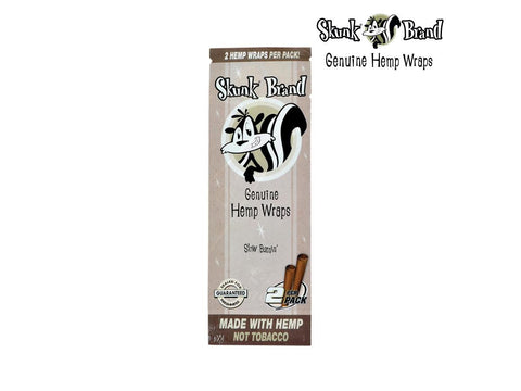 Skunk Genuine Hemp Wraps - 2/pack