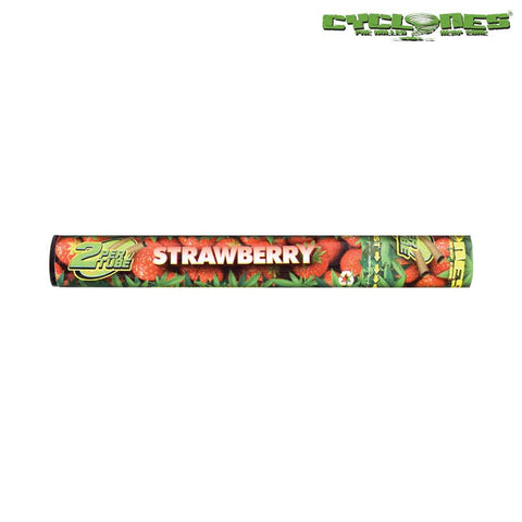 Cyclones Hemp Wraps Pre-Rolled Cones - Strawberry 2/pack