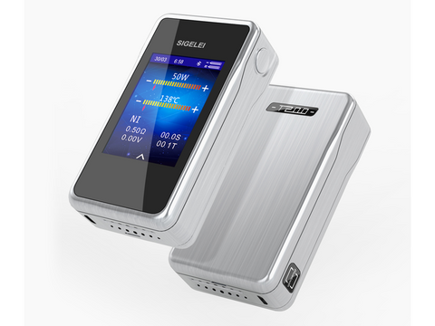 Sigelei Liquid Vape Box Mod T200 Touch Screen ( 2 x 18650 )