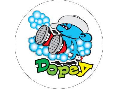 SWAG Sticker - Dopey Smurf