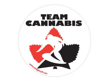 SWAG Sticker - Team Cannabis