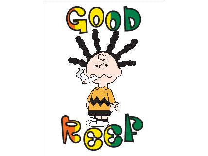 SWAG Sticker - Good Reef Charlie Brown