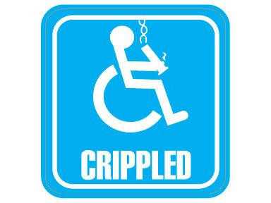 SWAG Sticker - Crippled
