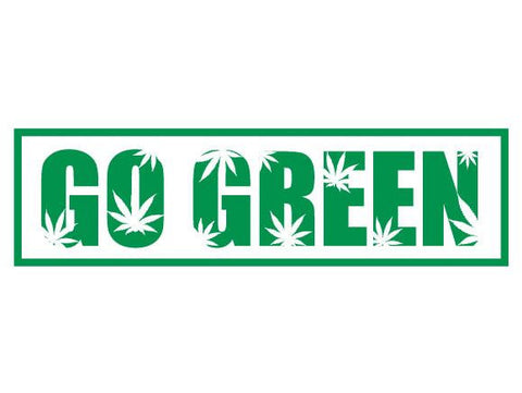 SWAG Sticker - Go Green