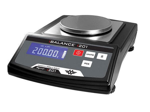 MyWeigh iBalance 201 Digital Scale - 200g x 0.01g w/ AC Adapter & Wind Cover 22185