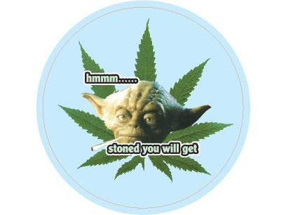 SWAG Sticker - Yoda Stoned