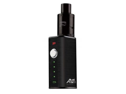 Pulsar APX Wax Vaporizer For Concentrates Starter Kit Black w/ Metal Tank Housing