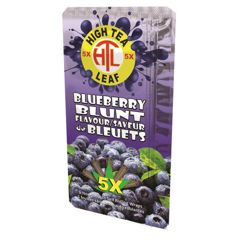 High Tea Leaf Herbal Wraps 5/pack Blueberry
