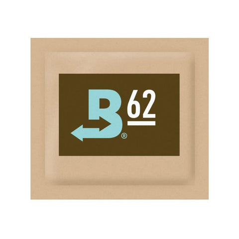 Boveda Humidipak Humidity Controlling Pack 62% Percent Humidity Level 4g 600/box