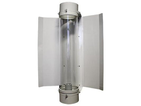 "Cool Sun Cool-Tube External White Air-Cooled Reflector 6"" x 24"" 22703"