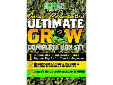 Jorge Cervantes DVD Ultimate Grow Box Set 3-Pack