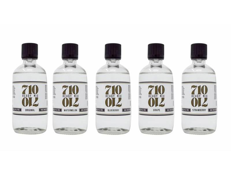 710 Ready Mix (was Extract Solutions Co ) Vape Pen Oil Mix 60ml Bottle -  Choice of Flavours