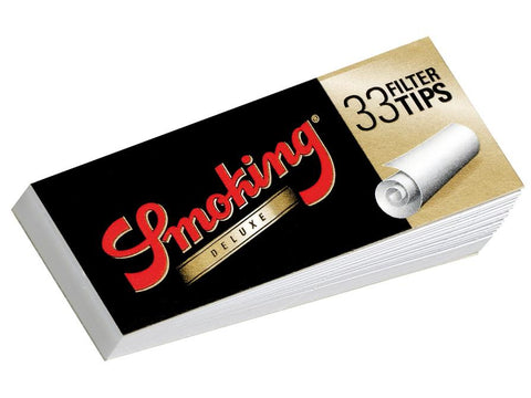 Smoking Deluxe King Size 33/pack With Tips!