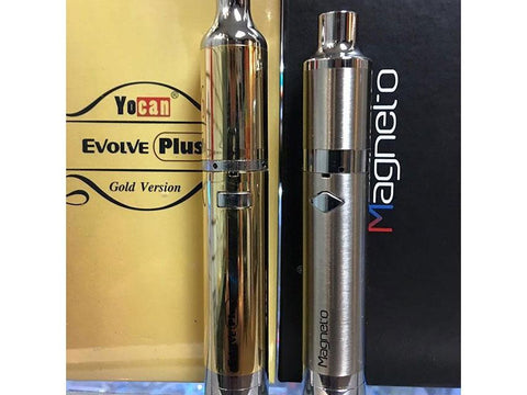 Yocan Magneto Pen Vaporizer for Concentrates - With New Layered Ceramic Coil GOLD Edition