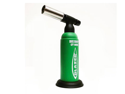 Blazer Refillable Butane Torch - Big Shot Industrial Torch - GB8000 Limited Edition Green