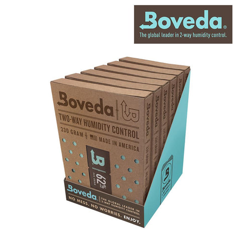Boveda Humidipak Humidity Controlling Pack 62% Percent Humidity Level 320g 6/pack