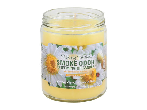 Smoke Odor Exterminator Candle 13oz - Picking Daisies