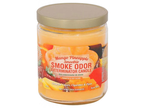 Smoke Odor Exterminator Candle 13oz - Mango Pineapple Smoothie