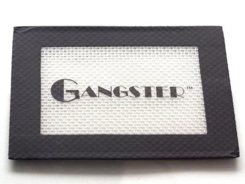 "Gangster Glass Silicone Pad / Mat 5.5x3.5"" Small Asstd Colors"