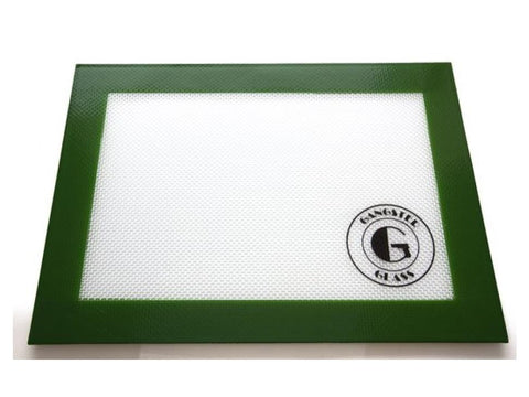 "Gangster Glass Silicone Pad / Mat 8x11"" Asstd Colors"