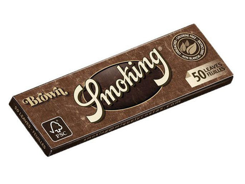 Smoking Brown 1-1/4 Size (Medium) 50/pack 25/box