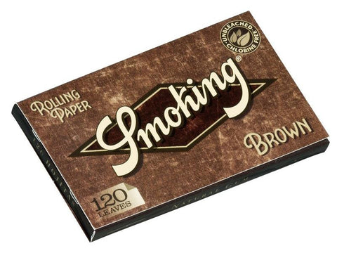 Smoking Brown Single Size Double-Window 120/pack 25/box