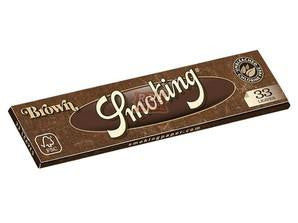 Smoking Brown King Size 33/pack