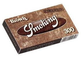 Smoking Brown 1-1/4 Size (Medium) 300/pack 40/box