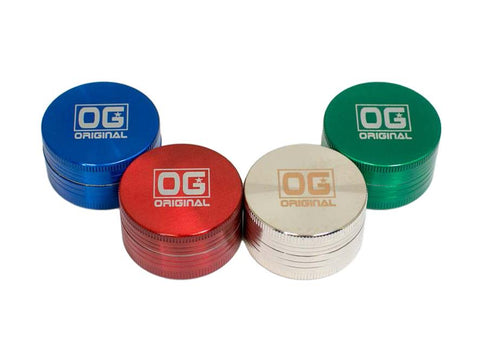 OG Original Glass - Grinder 2-piece 40mm Choice of Colors 24251