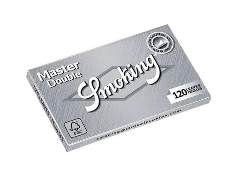 Smoking Master Single Size Double-Window 120/pack 25/box