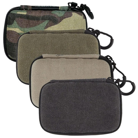 "RYOT Smell Safe Hard Shell Krypto Kit Case 4.75x2.75"" Choose Black, Natural or Olive 24645"