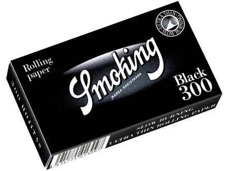 Smoking Black 1-1/4 Size (Medium) 300/pack 20/box