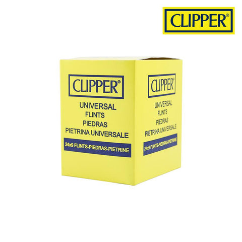 Clipper Lighter Replacement Flints Universal Fit Just About Any Lighter 9/pack 24/box