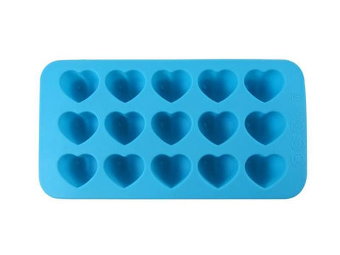 Dope Molds Silicone Gummy / Ice Mold Hearts 15 Cavity