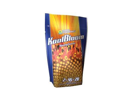 General Hydroponics Nutrient / Additive - Dry Kool Bloom 1kg 25285