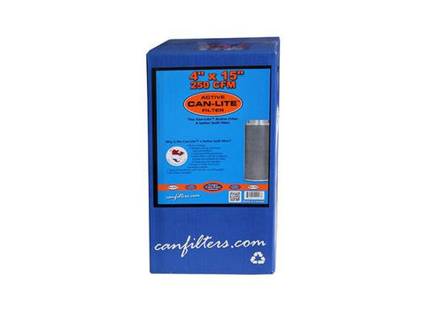 "CAN Filter Group - CAN Filter Activated Charcoal / Carbon Exhaust / Scrubber CAN-Lite 4"" 225cfm"