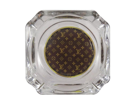 NoName Glass Ashtray Louis V