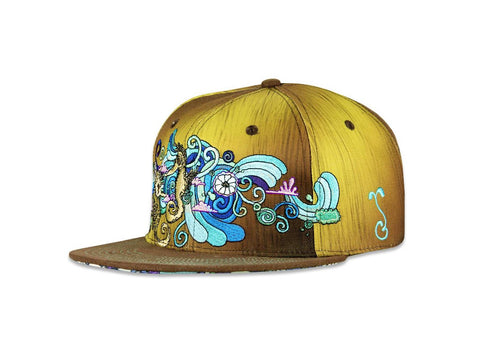 Grassroots California Hat - SnapBack Vincent Gordon Seahorse Choice of Sizes