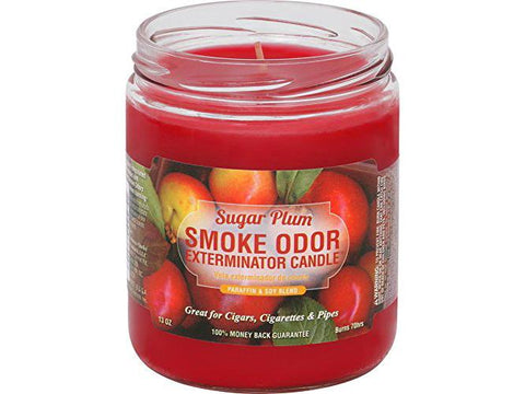 Smoke Odor Exterminator Candle 13oz - Sugar Plum
