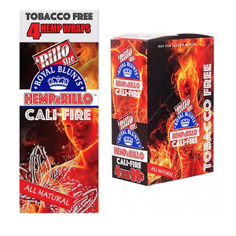 Royal Blunt Tobacco-Free Wraps Cali-Fire 4/pack