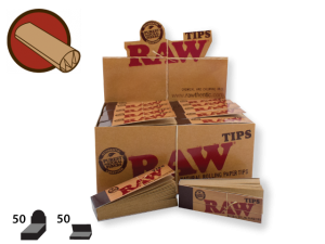 RAW Tips Regular 50/pack 50/box